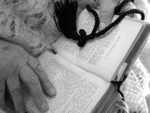hands-and-bible